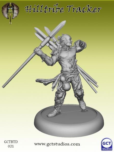 Bushido Miniatures: (Tengu Descension) Hilltribe Tracker