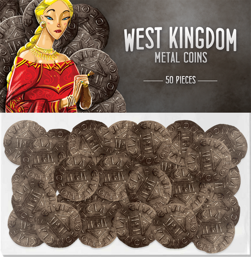 Architects of the West Kingdom: West Kingdom Metal Coins (50)