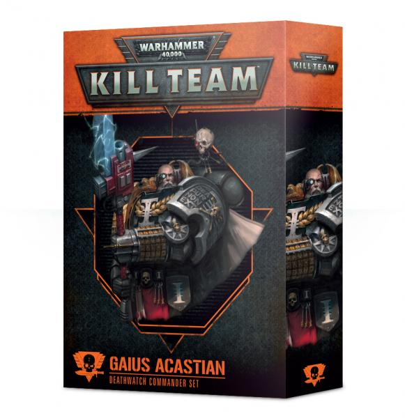 Warhammer 40K: Commander - Gaius Acastian [KILL TEAM]