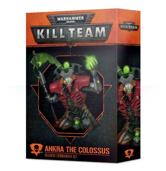 Warhammer 40K: Commander - Ankra the Colossus [KILL TEAM]