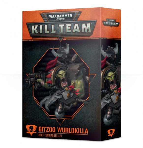 Warhammer 40K: Commander - Gitzog Wurldkilla [KILL TEAM]