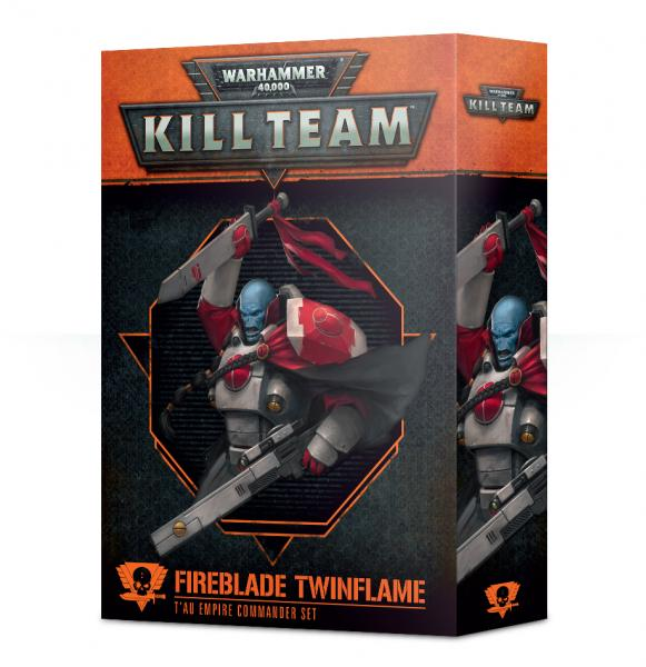 Warhammer 40K: Commander - Fireblade Twinflame [KILL TEAM]