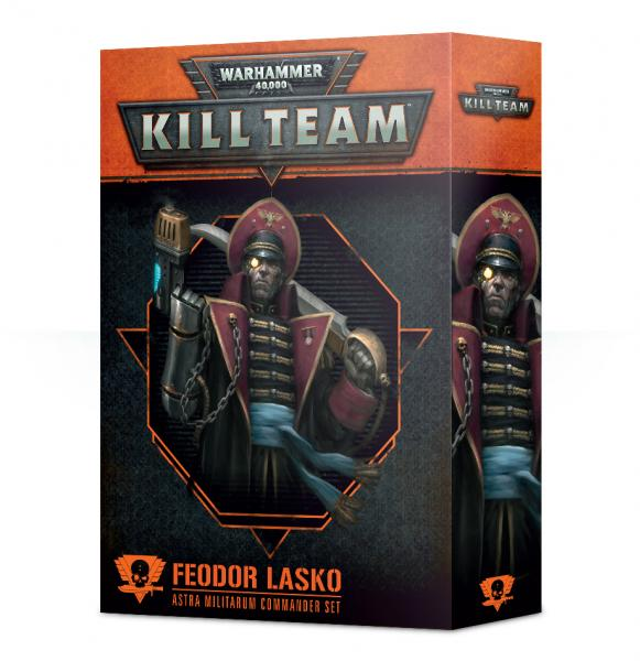 Warhammer 40K: Commander - Feodor Lasko [KILL TEAM]