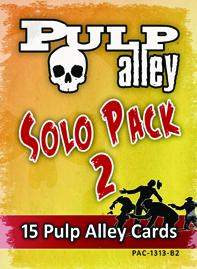 Pulp Alley: Solo Booster #2