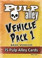 Pulp Alley: Vehicle Pack #1