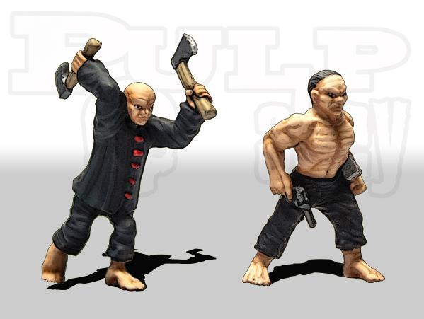 Pulp Alley: Fang's Hatchetmen #3