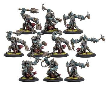 Warmachine: (Cryx) Bloodgorgers – Cryx Unit (10) (metal/resin)