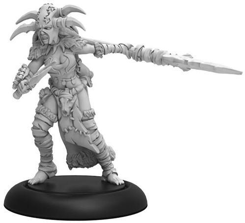 Hordes: (Circle Orboros) Tharn Blood Shaman - Warcaster Attachment (1) (metal/resin)