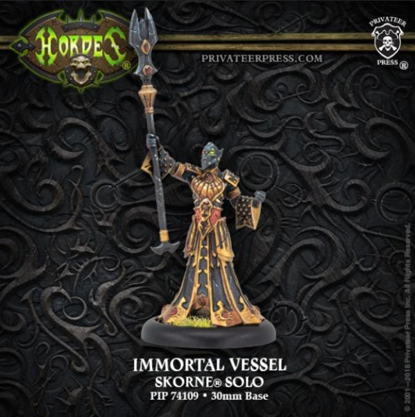 Hordes: (Skorne) Immortal Vessel (1) (metal/resin)