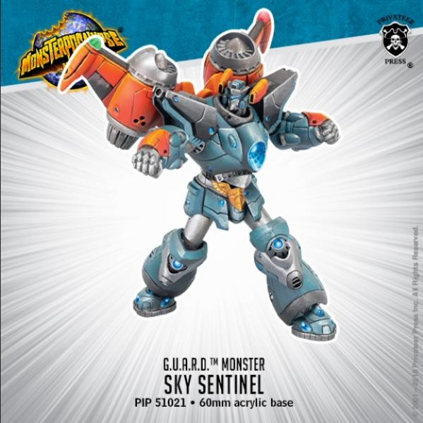 Monsterpocalypse: Sky Sentinel G.U.A.R.D. Monster (resin)