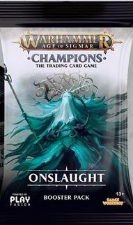 Warhammer Age of Sigmar: Champions Wave 2 Onslaught Booster Pack (1)