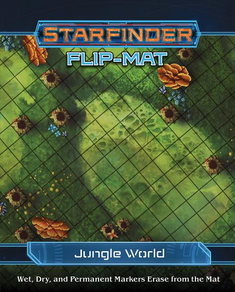 Starfinder RPG: Starfinder Flip-Mat - Jungle World