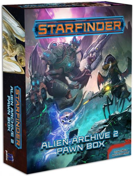 Starfinder RPG: Pawns - Alien Archive 2 Pawn Box