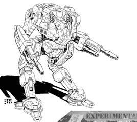 BattleTech Miniatures: Ryoken III-XP (Skinwalker) Prime Mech - 55 Tons - XTRO Republic III