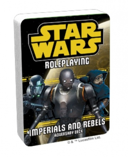 Star Wars RPG: Adversary Deck - Imperials and Rebels III Deck