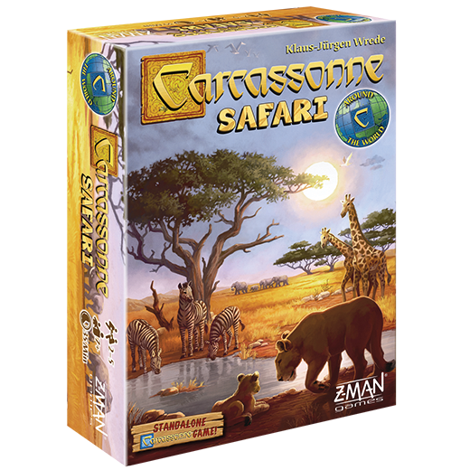 Carcassonne: Safari  (stand alone)