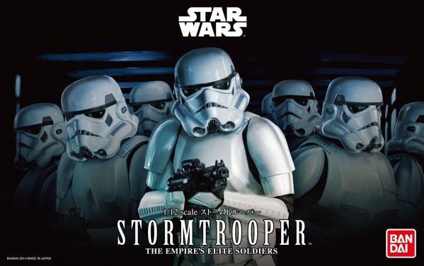 Bandai Hobby (Gunpla) Star Wars 1/12 scale: Stormtrooper