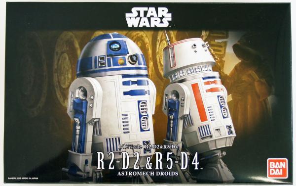 Bandai Hobby (Gunpla) Star Wars 1/12 scale: R2-D2 & R5-D4