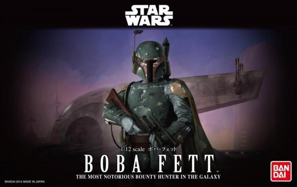 Bandai Hobby (Gunpla) Star Wars 1/12 scale: Boba Fett Bounty Hunter