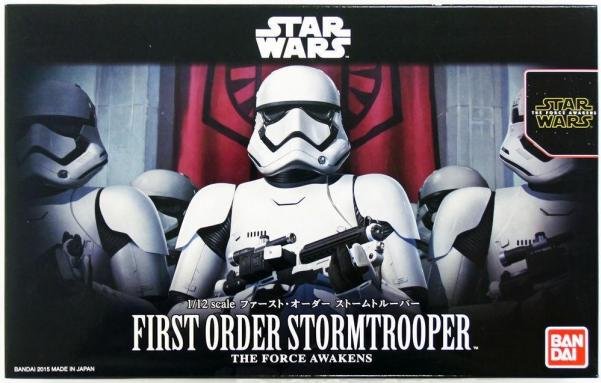 Bandai Hobby (Gunpla) Star Wars 1/12 scale: First Order Stormtrooper