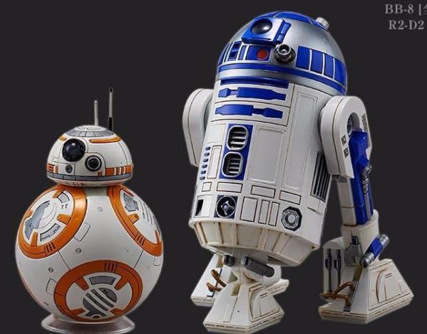 Bandai Hobby (Gunpla) Star Wars 1/12 scale: BB-8 & R2-D2
