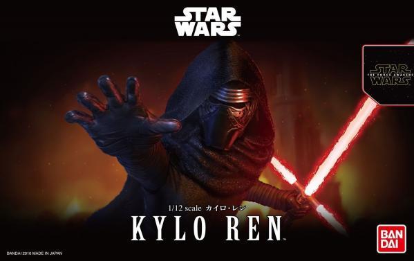 Bandai Hobby (Gunpla) Star Wars 1/12 scale: Kylo Ren