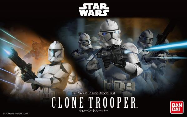 Bandai Hobby (Gunpla) Star Wars 1/12 scale: Clone Trooper