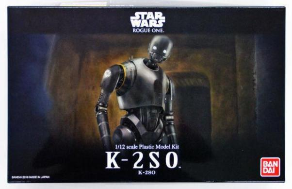 Bandai Hobby (Gunpla) Star Wars 1/12 scale: K-2SO