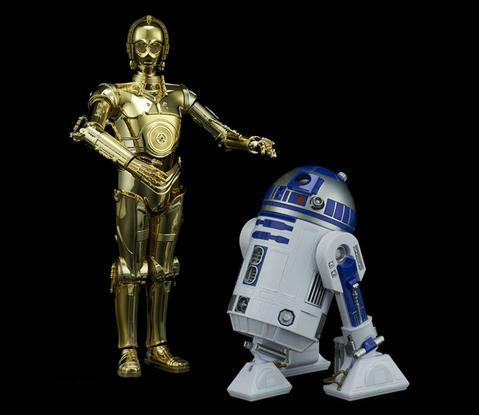 Bandai Hobby (Gunpla) Star Wars 1/12 scale: C-3PO & R2-D2