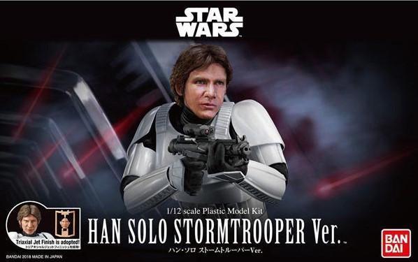 Bandai Hobby (Gunpla) Star Wars 1/12 scale: Han Solo Stormtrooper