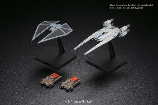 Bandai Hobby (Gunpla) Star Wars 1/144 scale: U-wing Fighter & TIE Striker