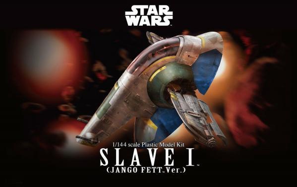 Bandai Hobby (Gunpla) Star Wars 1/144 scale: Slave I Jango Fett Version