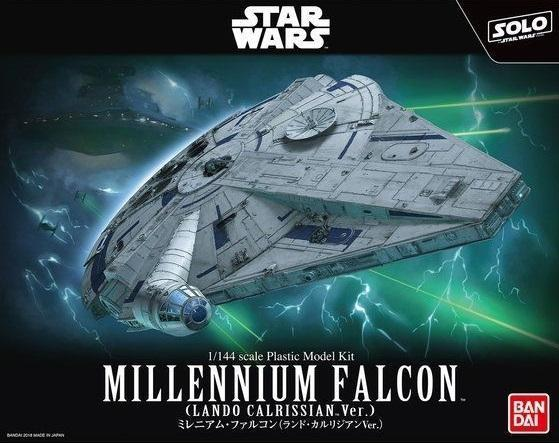 Bandai Hobby (Gunpla) Star Wars 1/144 scale: Solo Movie - Millennium Falcon Lando Version