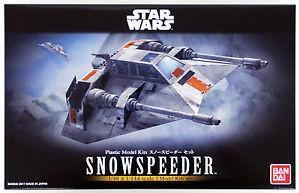 Bandai Hobby (Gunpla) Star Wars 1/48 & 1/144 scale: Snowspeeder Set
