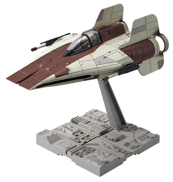Bandai Hobby (Gunpla) Star Wars 1/72 scale: A-Wing Star Fighter