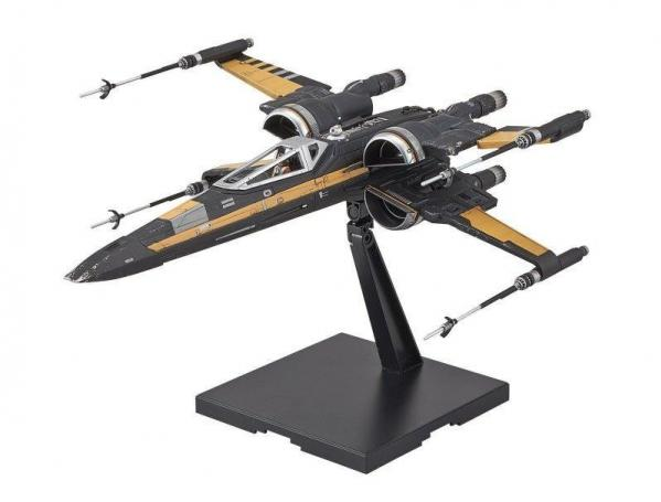 Bandai Hobby (Gunpla) Star Wars 1/72 scale: Poe's Boosted X-Wing Fighter