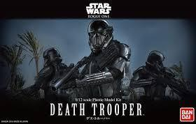 Bandai Hobby (Gunpla) Star Wars Character: Death Trooper (1/12 scale)