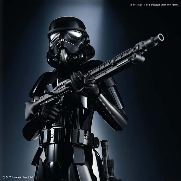 Bandai Hobby (Gunpla) Star Wars Character: Shadow Stormtrooper (1/6 scale)