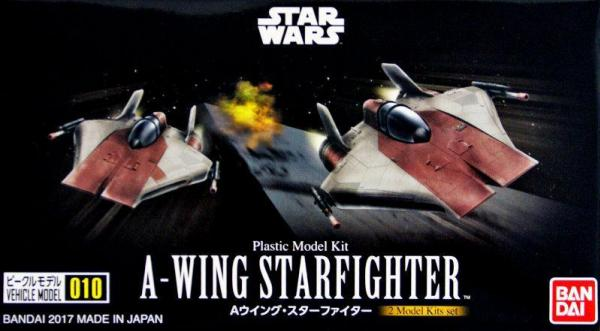 Bandai Hobby (Gunpla) Star Wars Vehicle: A-wing Starfighter Set (1/144 scale)