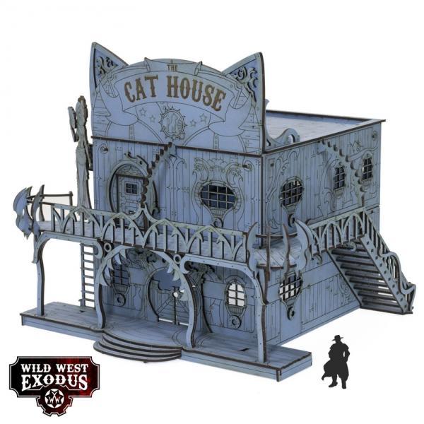 Wild West Exodus: Terrain - Red Oak Cat House