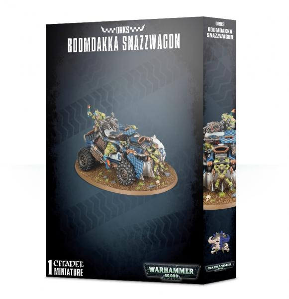 Warhammer 40K: Orks Boomdakka Snazzwagon
