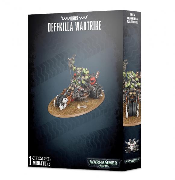 Warhammer 40K: Orks Deffkilla Wartrike