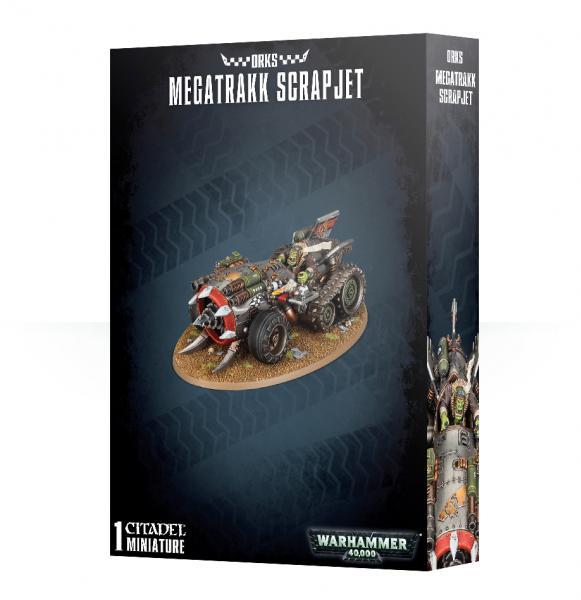 Warhammer 40K: Orks Megatrakk Scrapjet