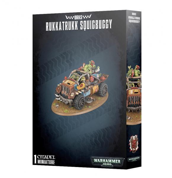 Warhammer 40K: Orks Rukkatrukk Squigbuggy