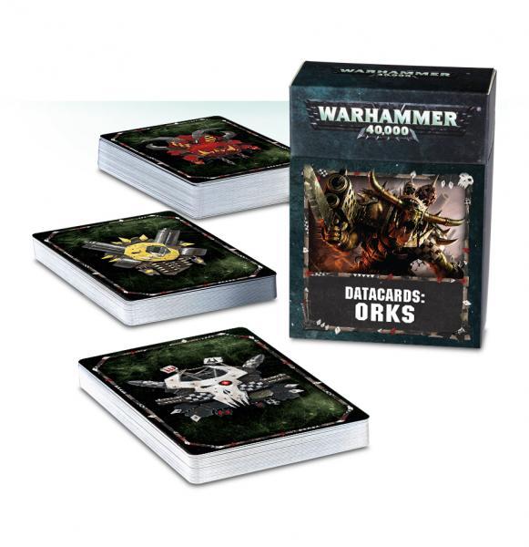 Warhammer 40K: Orks Datacards