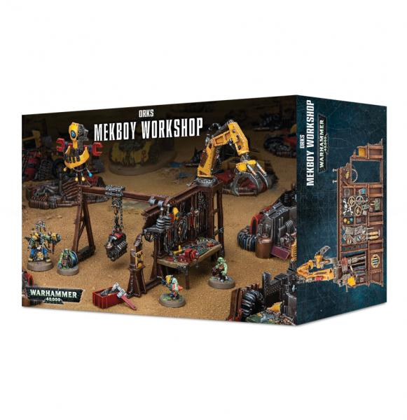 Warhammer 40K: Ork Mek Workshop