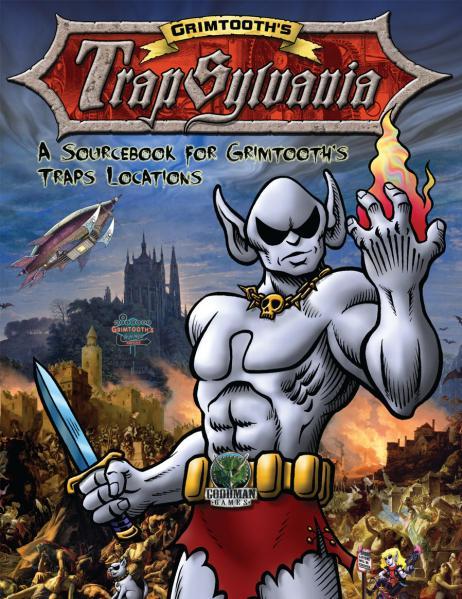Grimtooth's Trapsylvania (SC) (DCC RPG Sourcebook)