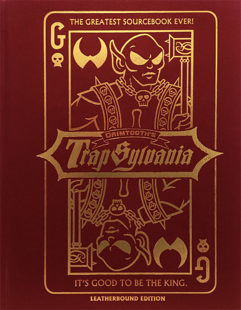 Grimtooth's Trapsylvania (Leatherbound, Limited) (DCC RPG Sourcebook)