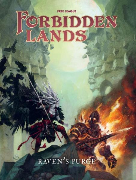 Forbidden Lands RPG: Raven's Purge (Campaign Supp.)
