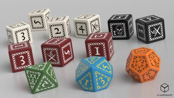 Forbidden Lands RPG: Custom Dice